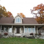 Newly built home in Orrington